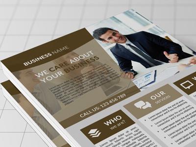 Corporate Flyer apps brand corporate creative design designer corporate flyer development firm flyer graphic
