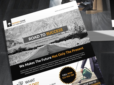 Corporate Flyer (2 Sided) business flyer solution 2 sided advertisement corporate flyer template corporate