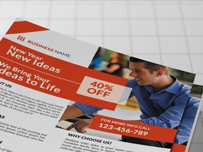 Corporate Flyer website web developer studio promotional programmer print poster multipurpose flyer magazine graphic flyer designer