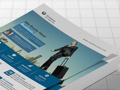 Corporate Flyer flyer firm development designer design creative corporate flyer corporate business solution