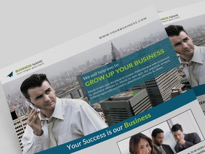 Corporate Flyer (MS Word / PSD)