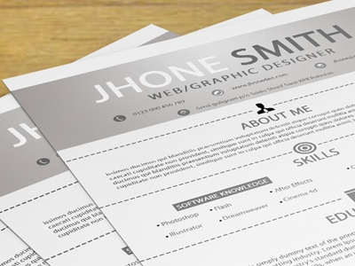 download this resume here httpwwwcodegrapecomitemsimple resume cover letter business card2537