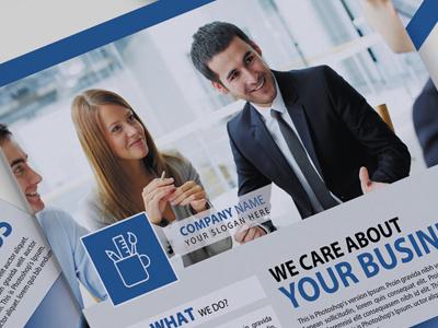 Corporate Flyer (Facebook Style)