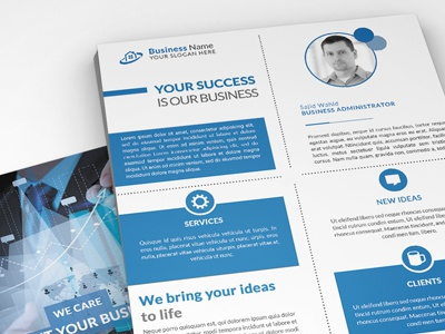 Corporate Flyer (2 sided)