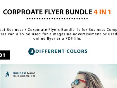 Corporate Flyer Bundle 4 in 1