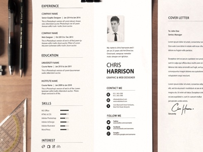 Resume swiss resume swiss style ai white simple resume ai resume resume template resume red resume professional resume job elegant resume