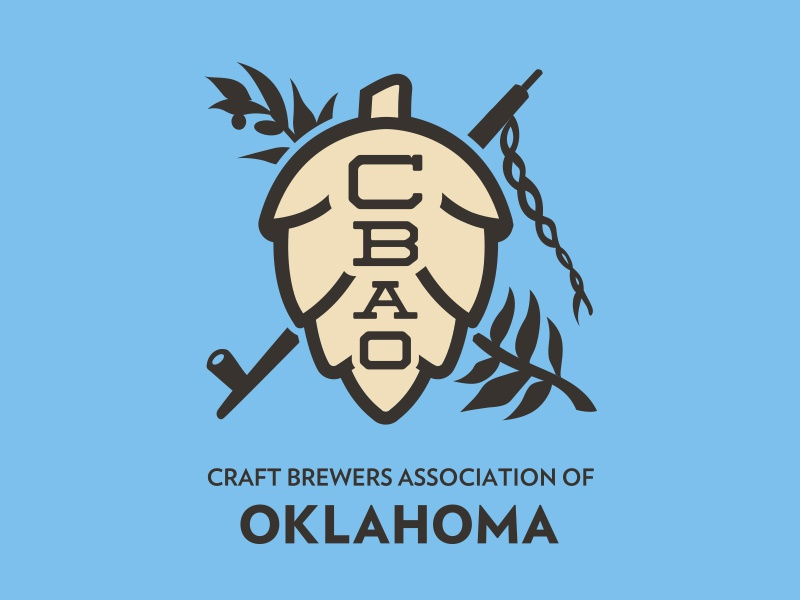 Craft Brewers Association of Oklahoma Logo by Erik Hunter on