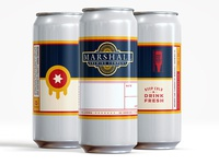 Marshall Brewing Co. Crowler Label
