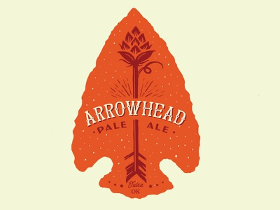 Arrowhead Pale Ale tulsa hops arrowhead