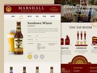 Marshall Brewing Website