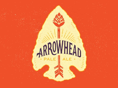 Arrowhead Pale Ale arrow hops arrowhead craft beer beer tulsa