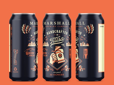 Marshall Brewing Company  - Crowler