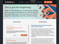Birdseye Website