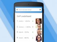 Staff Leaderboard