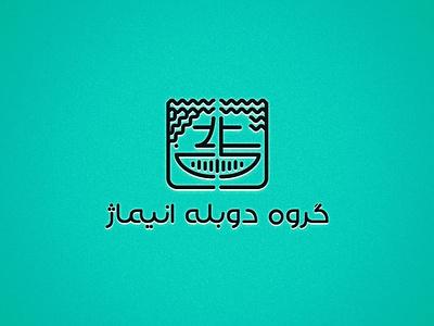 Doublage ui illustration designer ux advertising minimal illustrator design branding logo