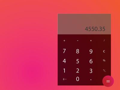Dailyui 004 ui 004 dailyui calculator