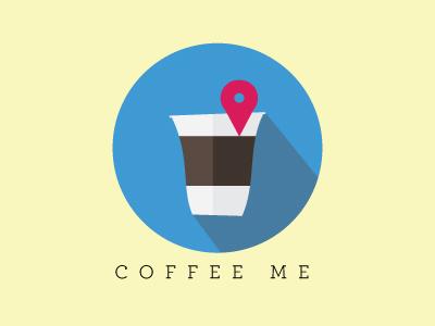 Dailyui 005 maps coffee icon app dailyui