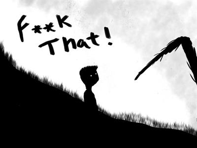 How I feel every time I play Limbo fog white black dark creepy spider indie gaming limbo