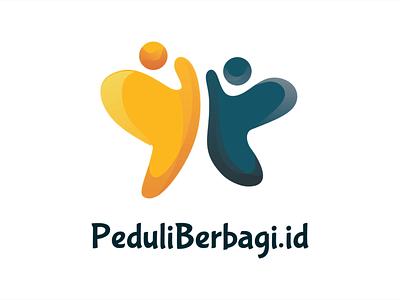 Peduli Berbagi - Logo Animation logo inspiration vector people butterfly donation crowdfunding startup logo design branding identity designs branding visual identity indonesia designer brand identity brand design graphic design logo designer logo design logo animation logo