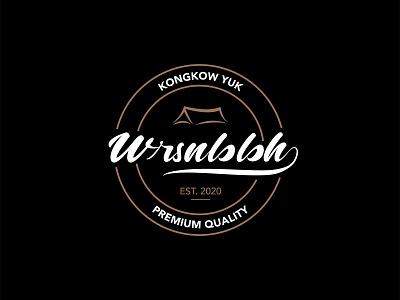 Wrsnbbh Logo shop coffee home type design type art simple logo logos idenity branding illustration visual identity indonesia designer brand identity brand design typography tag design logotype logo design logo graphic design