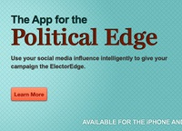 ElectorEdge iPhone App Web Banner