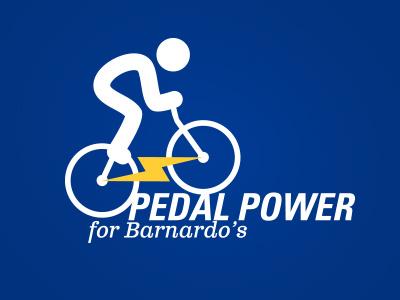 Charity Bike Ride Logo Concept univers bike charity clarendon sports logo