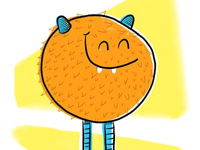 Scruffy Nerf Herder happy illustration monster