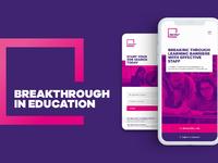 Breakthrough mobile and logo