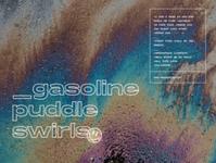 Gasoline Puddle Swirls music design social dailyui