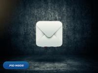 Mail Icon + psd inside