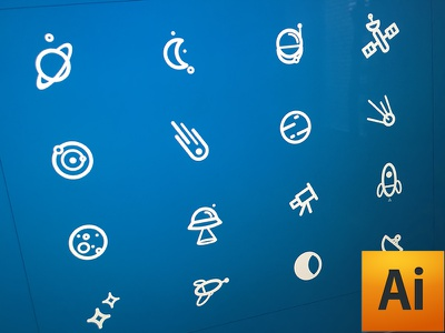 Space icon .ai for free & sketch icon space illustrator vector free download ux ui sketch