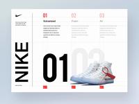 Nike Off white layout