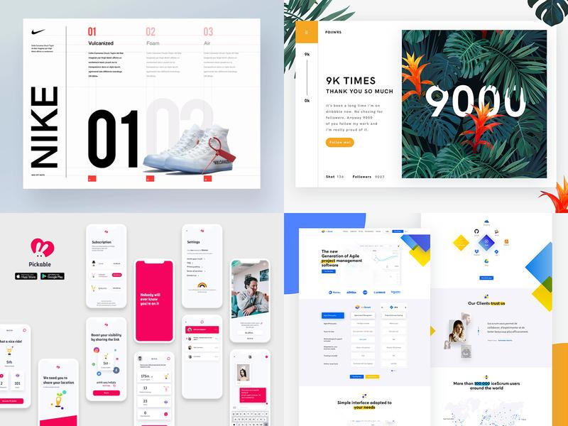 It happen in 2018 typography web design icon animation illustration article vector logo dashboard web blog ios white iphone website minimal design app ux ui