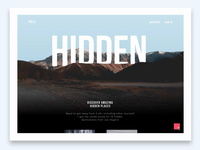 parallax website made in invision studio + source