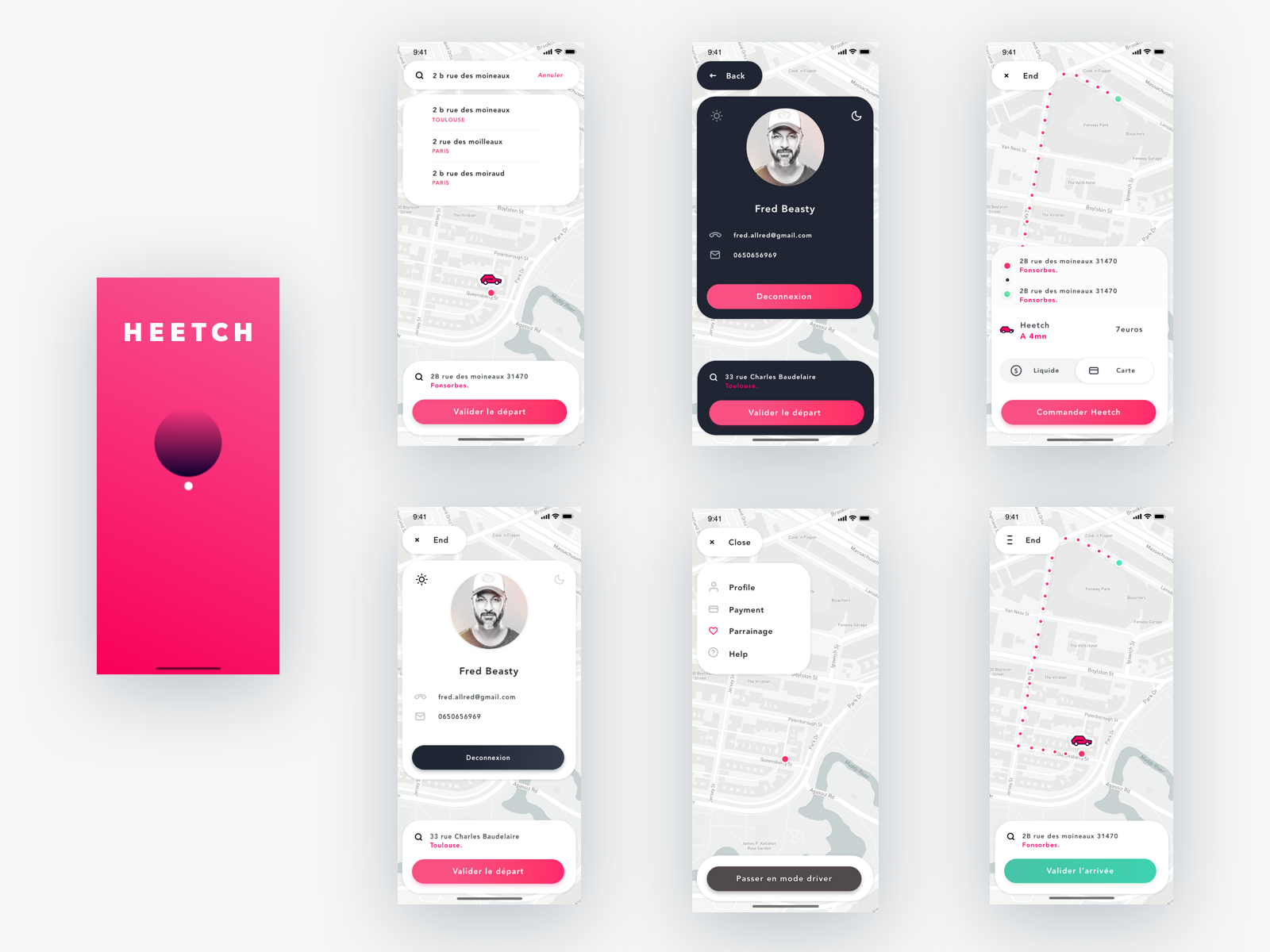 2B Auto Fonsorbes heetch redesign by beasty for seriously on dribbble