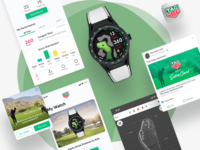 Golf App for TAG Heuer Connected Watch