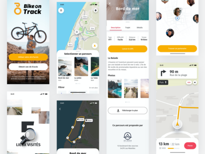 Bike on Track iOS app