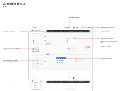 Tennis Court Gestion Dashboard web design product design website minimal ux ui