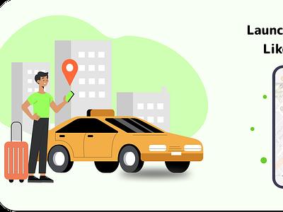 Taxi Booking App Design ux graphic design app design mobile app development company