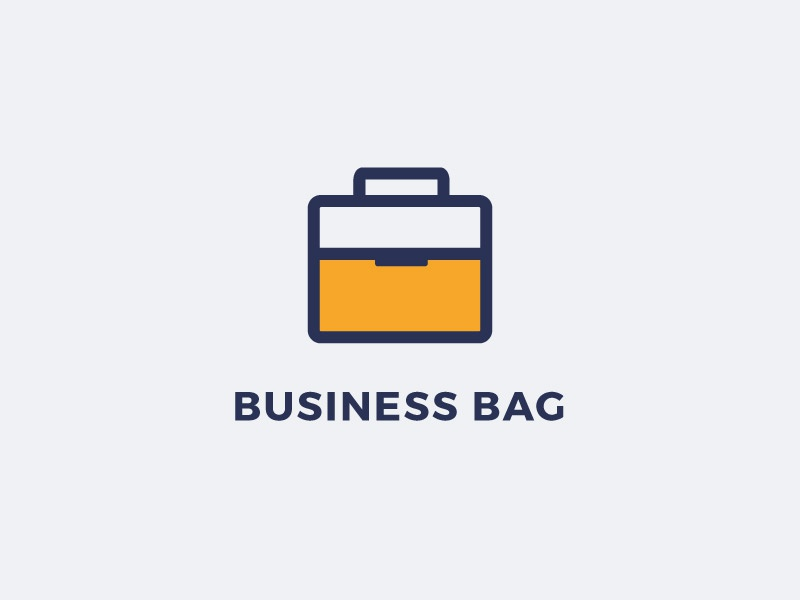unparalleled color brilliancy new high quality Business Bag Logo by PixaSquare on Dribbble