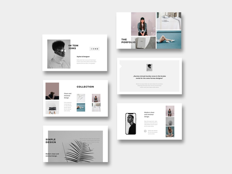 Bosh Minimal Styled Template Layout By Pixasquare On
