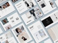 The Bundle 36 Templates + 70 Stock Photos