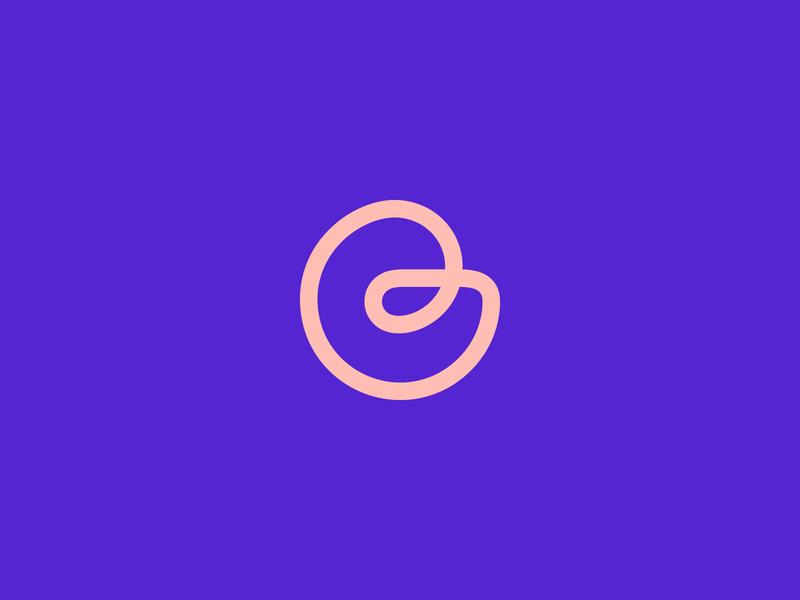 GraphicGum Logo Design label creative alphabet endless line modern brand vector icon app minimal inspiration mark branding ui concept gif letter design logo