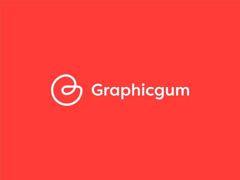 Graphicgum Logo Design label creative line icon modern identity line logodesign logotype brand letter vector icon app minimal inspiration mark logo ui design branding