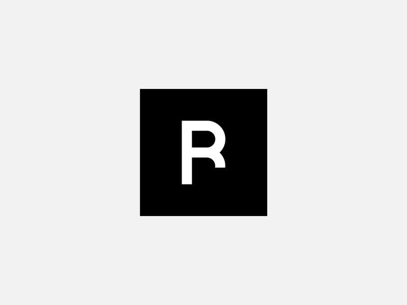 Rawbelow - Logo Design creative label brand design vector idenity monogram rawbelow pixasquare b r lettermark letter icon minimal inspiration mark logo ui design branding