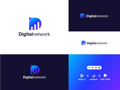 digital network logo design logo maker modern logo logo design branding unique logo logo mark creative logo logo design logotype logos logodesign logo
