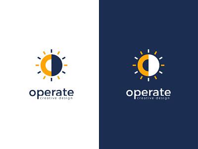 operate creative design logo design logo design modern logo vector logotype branding logo mark unique logo logo design branding logodesign creative logo o letter logo