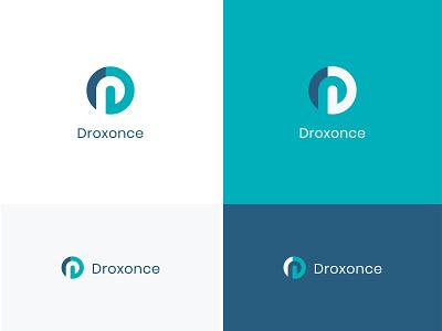 Droxonce Logo Design modern logo unique logo logo design logos logotype branding logo mark creative logo d letter logo d logo