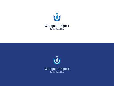 UI Letter Mark Logo   Unique Impox Logo design creative logo vector unique logo logo mark logotype branding icons logos modern logo uidesign ui logo ideas ui logo ideas ui logo ui design