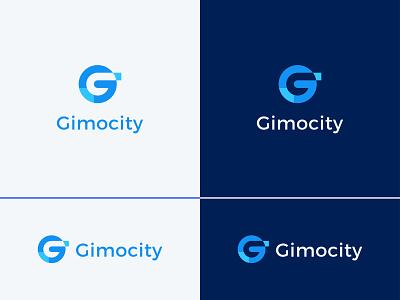 G Letter Logo   Gimocity Logo Design creative logo branding modern logo logodesign logo mark logotype graphicdesign graphic graphic design g letter logo g monogram g letter g mark g logo